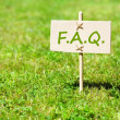Stock Photo: faq