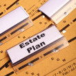 Real estate plan - Stock Photo