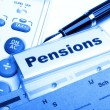 Pensions - Stock Photo