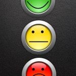 Customer service feedback — Stock Photo