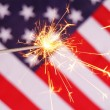 Stock Photo: Fourth of july