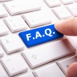 Faq button — Stock Photo #4559503