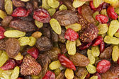Background of dried fruit mix — Stock Photo
