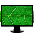 Stock Photo: HD high Definition computer monitor