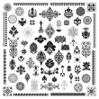 Royalty-Free Stock Imagen vectorial: Different style ornament set