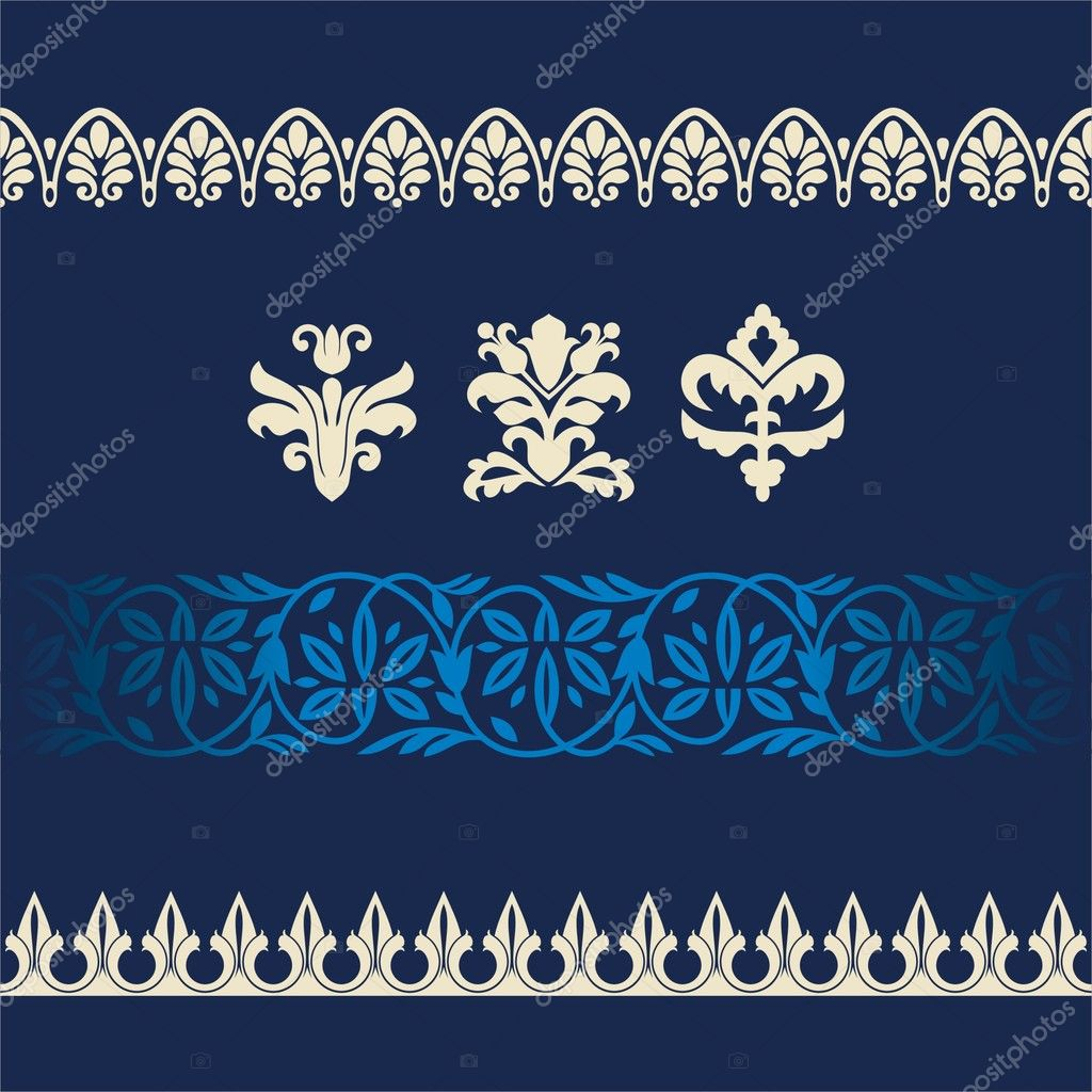 Ornaments and borders — Stock Vector #3039951