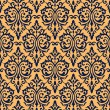 Seamless vintage damask background — Stock Vector #3242212