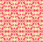 Seamless baroque background — Stock Vector