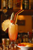 Planters punch coctail — Stock Photo