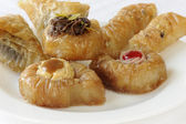Baklava sweet pastry — Stock Photo
