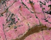 Dekorativní kamene rhodonite — Stock fotografie