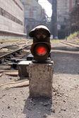Old semaphore — Stock Photo