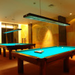 Stock Photo: Billiard tables