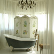A part of interior of bathroom — Stock Photo