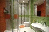 Interior of a bathroom — Stock Photo