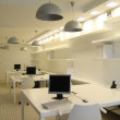 A part of office in white color — Stock Photo #3092141