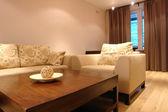 Interior de una sala de estar — Foto de Stock