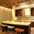 Stock Photo: Kitchen and dinning room