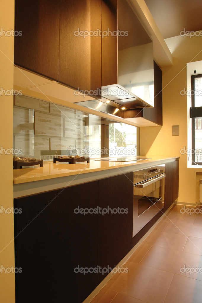kitchen in perspective  — Stock Photo #3168757