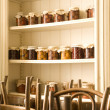 Stock Photo: Cabinet in restaurant