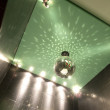 Mirror ball on the ceiling — ストック写真