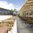Summer terrace in cafe — Stock fotografie #3607314