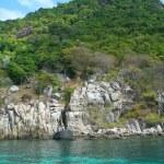 Thailand Asia Island Ko TAO Ao Leuk — Stock Photo