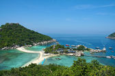 Thailand Asia Island Ko Nangyuan — Stock Photo