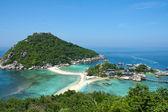 Thailand Asia Island Ko Nangyuan — Stock Photo