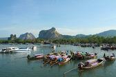 Thailand Asia Island Ao Nang — Stock Photo