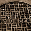 Nyc sewer — Stockfoto #2980662