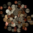 Pile Of British Coins — Stock Photo