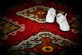 Scarpe sul tappeto rosso — Foto Stock