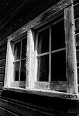 Barn window — Stock Photo