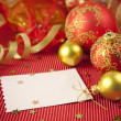 Christmas cards / with copy space — Stock Photo #2960143