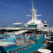 Top deck of cruise ship — Stock Photo #2989920