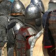 Stock Photo: Knights in shining armor