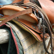 Saddle Up / Horse Equipment - Stock Photo