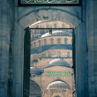 Stock Photo: Blue Mosque / Istanbul / Turkey / split toning
