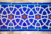 Traditional Oriental Tiles / handmade art — Stock Photo