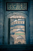 Blue Mosque / Istanbul / Turkey / split toning — Stock Photo