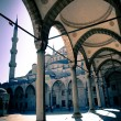 Stock Photo: Blue mosque courtyard / Istanbul / split toning