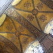 Hagia Sophia in Istanbul, Turkey / ancient mosaics / interior — Foto de Stock