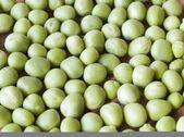 Background fresh peas — Stock Photo