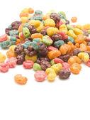 Sweetened corn cereal — Stock Photo