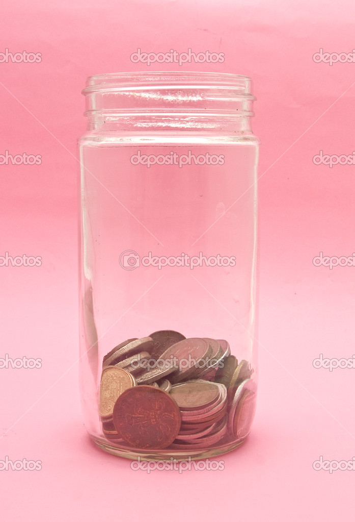 Coin jar — Stock Photo #3078538