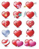 Hearts 2 — Stock Vector
