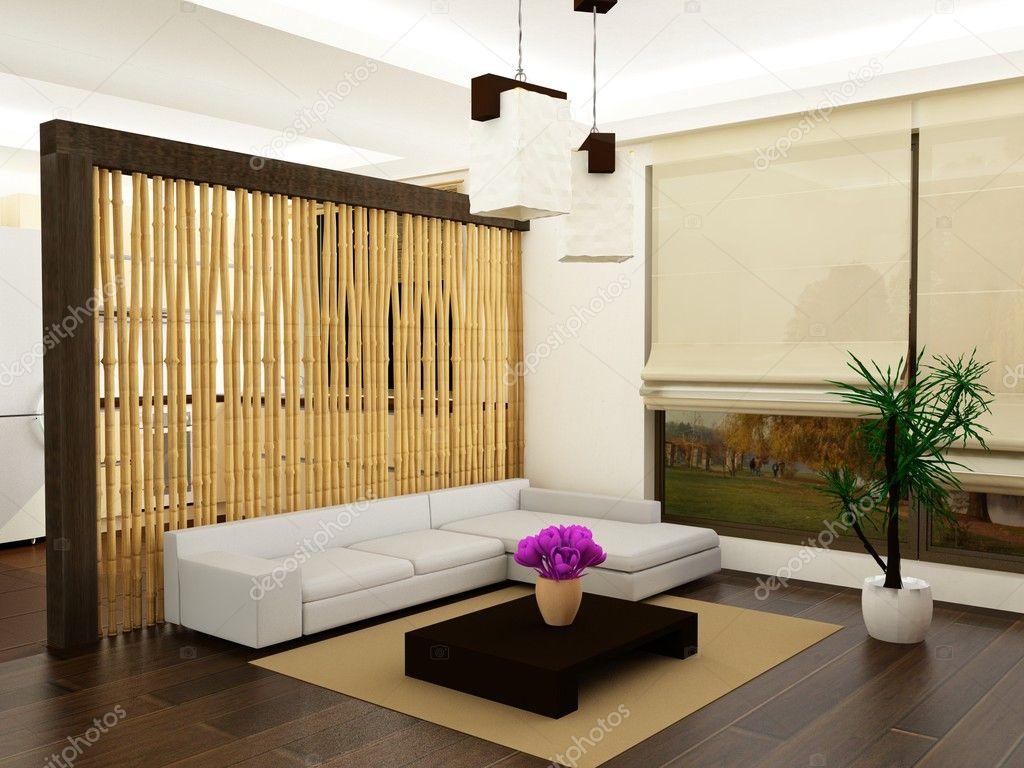 Moderne woonkamer — Stockfoto © zuzulicea #2964618