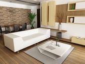 Modern living-room — Stock Photo