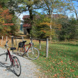 Autumn bike ride — Stock Photo #3081546
